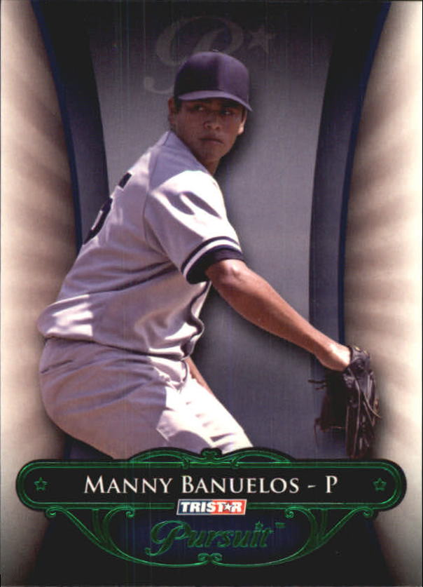 2010 TRISTAR Pursuit Green #165 Manny Banuelos