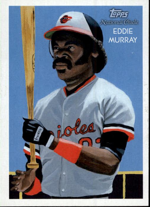2010 Topps National Chicle #219 Eddie Murray