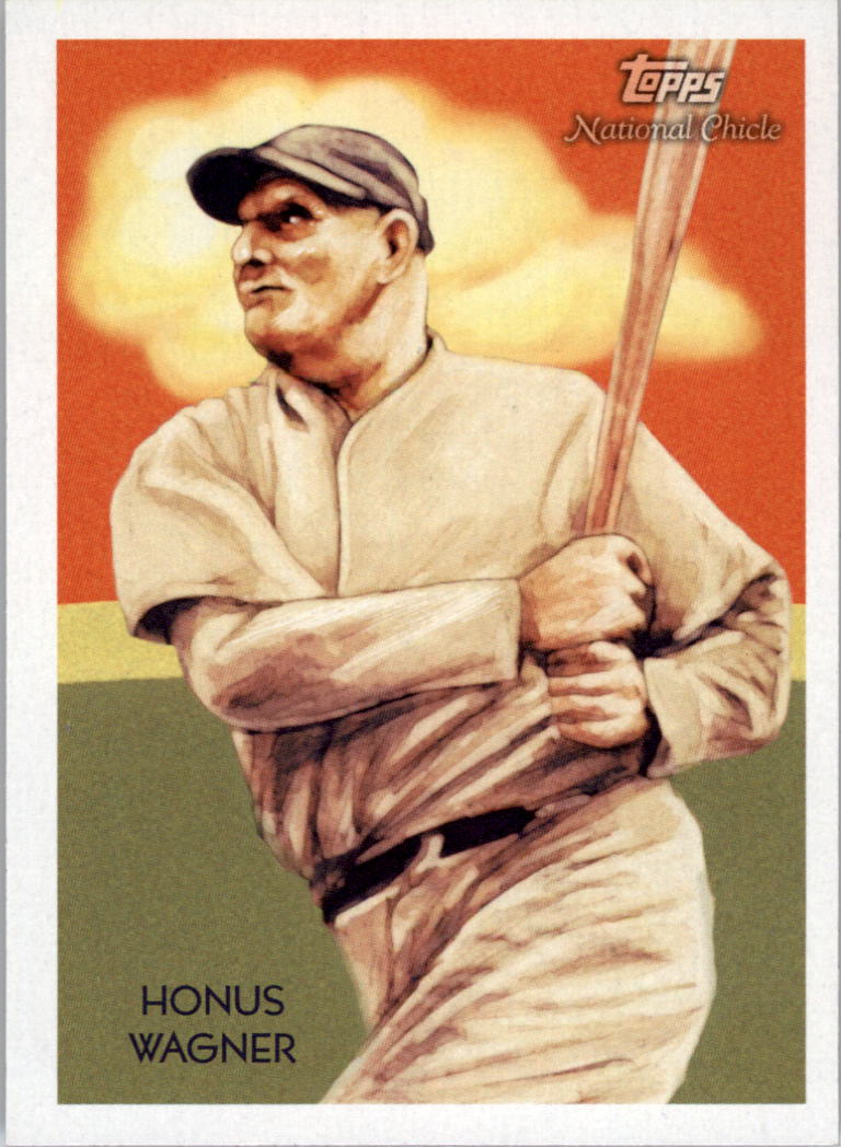 2010 Topps National Chicle #231 Honus Wagner