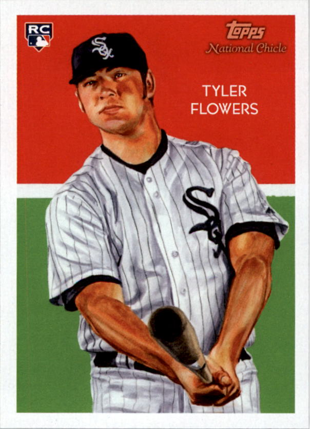 2010 Topps National Chicle #256 Tyler Flowers RC