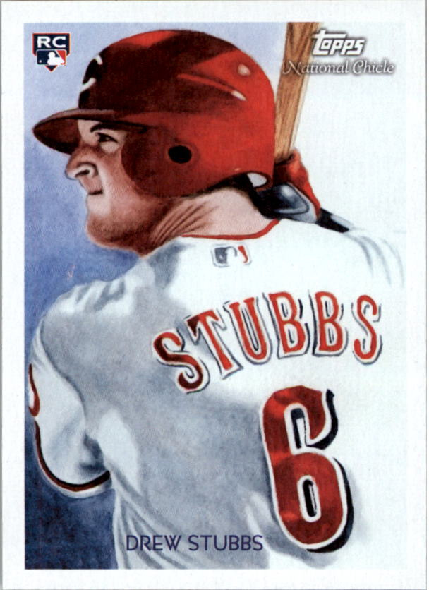 2010 Topps National Chicle #260 Drew Stubbs RC