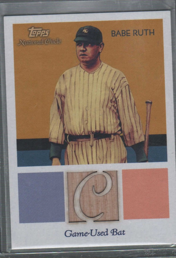 2010 Topps National Chicle Relics #BR Babe Ruth C