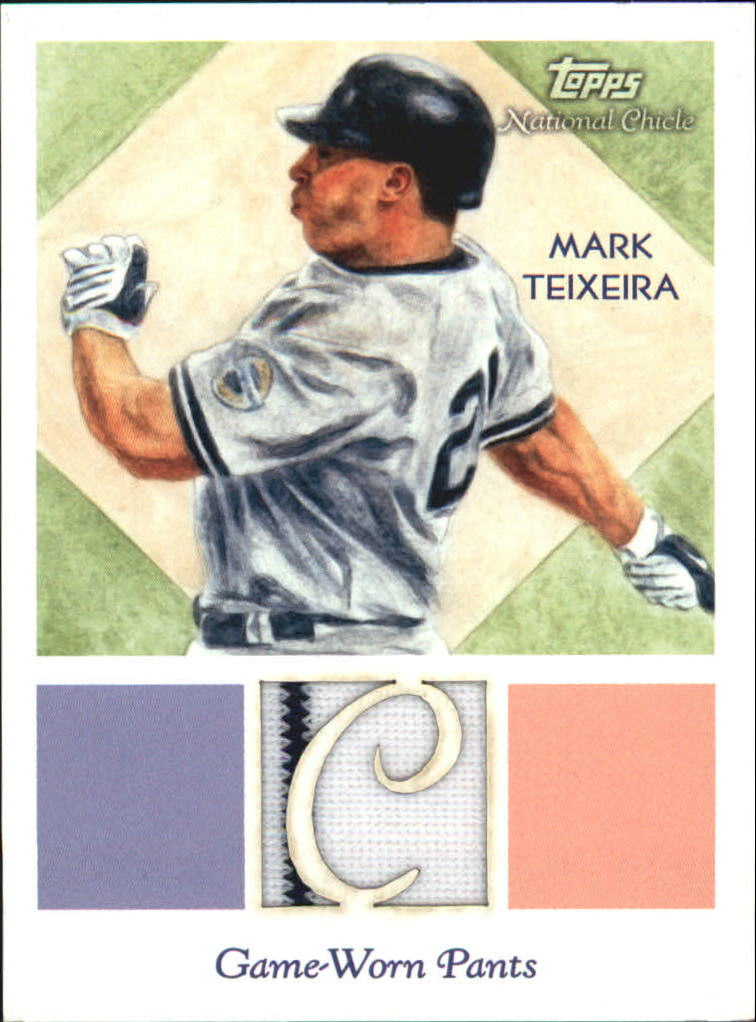 2010 Topps National Chicle Relics #MT Mark Teixeira B