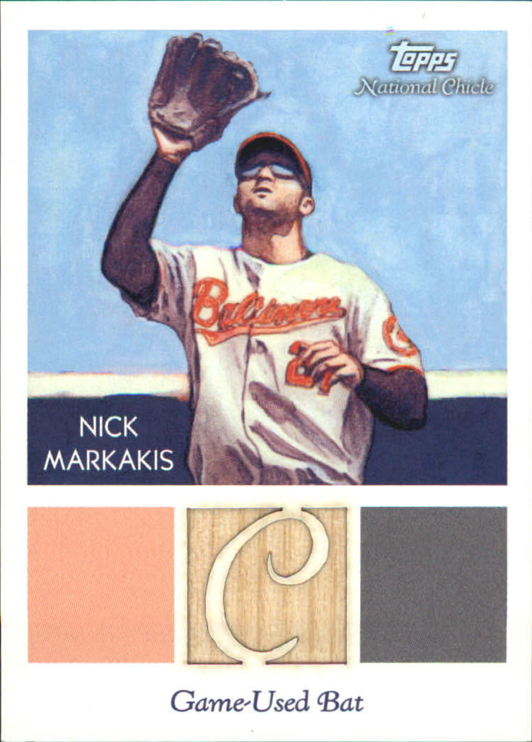2010 Topps National Chicle Relics #NM Nick Markakis B