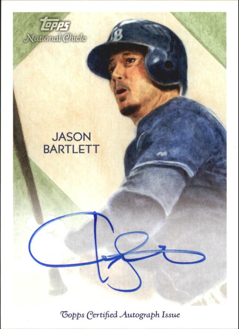 2010 Topps National Chicle Autographs #JB Jason Bartlett A