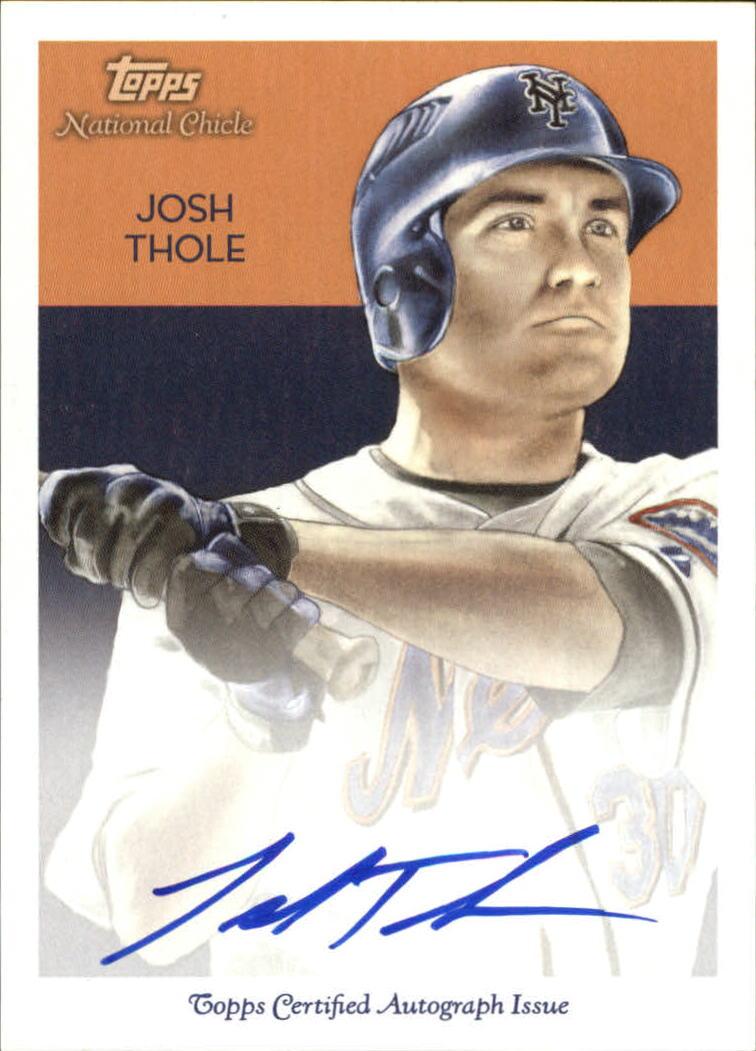 2010 Topps National Chicle Autographs #JT Josh Thole A