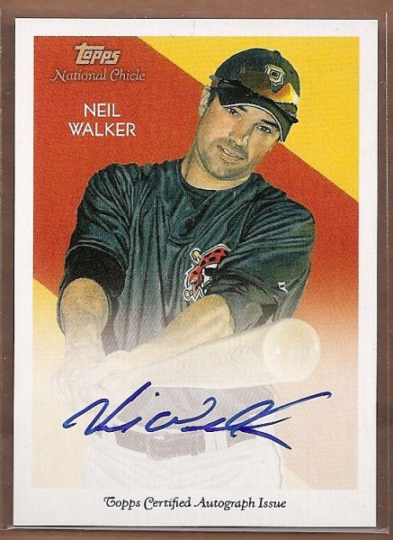 2010 Topps National Chicle Autographs #NW Neil Walker A