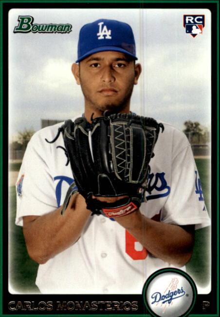2010 Bowman #192 Carlos Monasterios RC