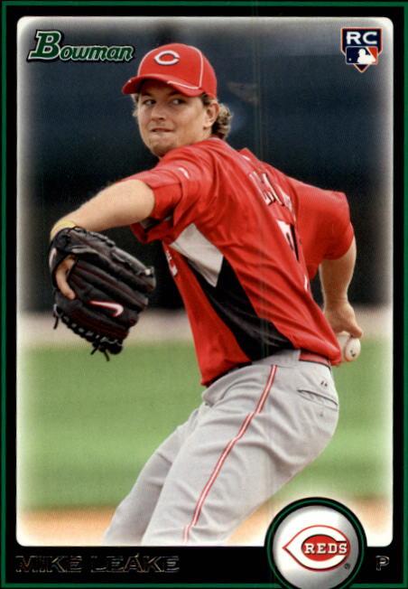 2010 Bowman #196 Mike Leake RC