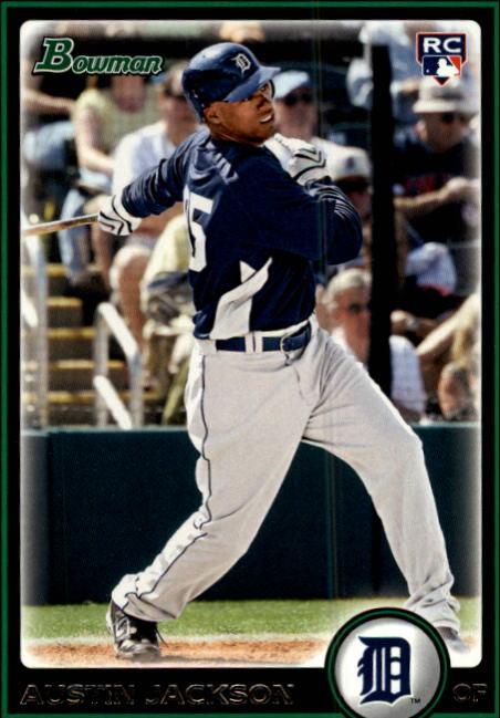 2010 Bowman #198 Austin Jackson RC