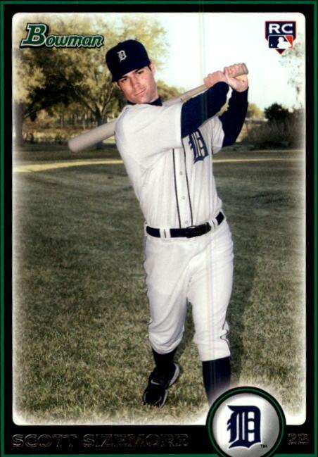 2010 Bowman #199 Scott Sizemore RC