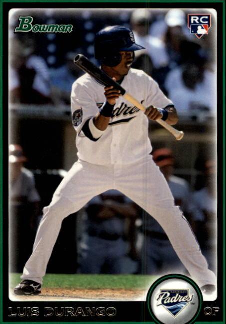 2010 Bowman #205 Luis Durango RC