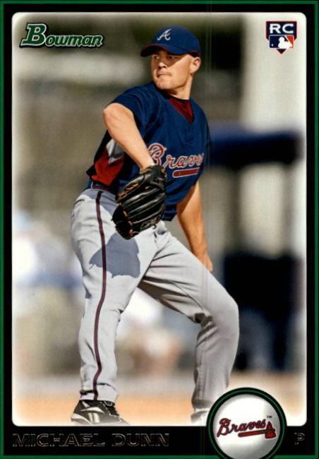 2010 Bowman #211 Michael Dunn RC