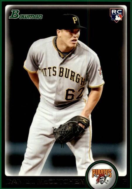 2010 Bowman #214 Daniel McCutchen RC