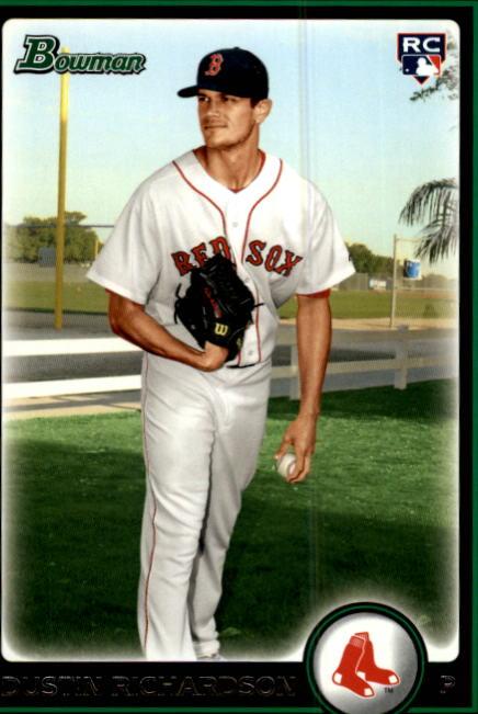 2010 Bowman #218 Dustin Richardson RC