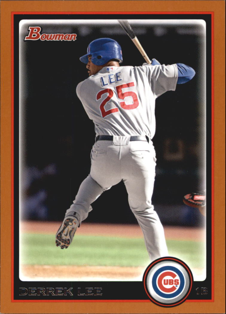 2010 Bowman Orange #129 Derrek Lee