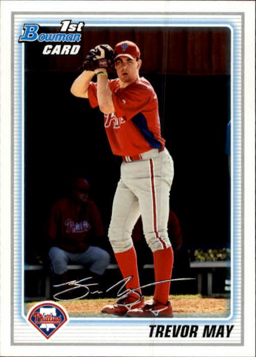 2010 Bowman Prospects #BP36 Trevor May