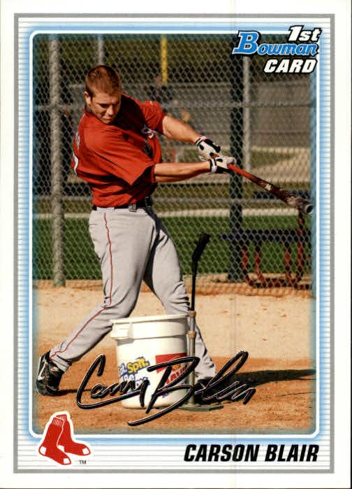 2010 Bowman Prospects #BP41 Carson Blair
