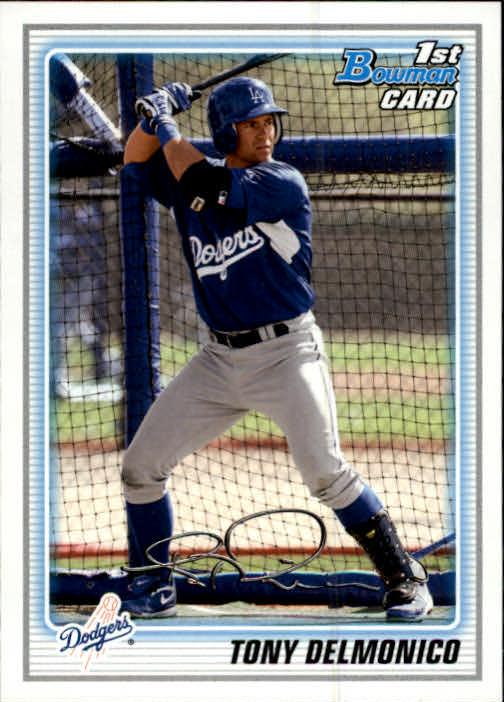 2010 Bowman Prospects #BP50 Tony Delmonico
