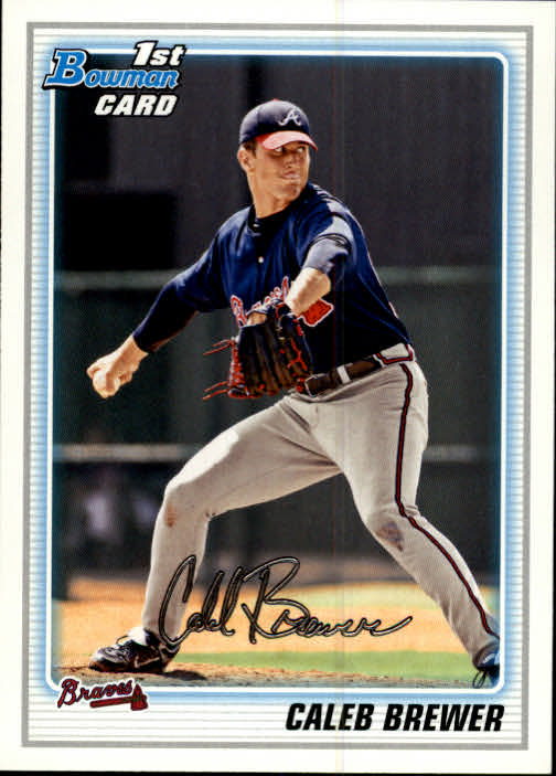 2010 Bowman Prospects #BP81 Caleb Brewer