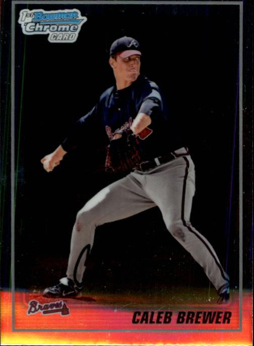 2010 Bowman Chrome Prospects #BCP81 Caleb Brewer