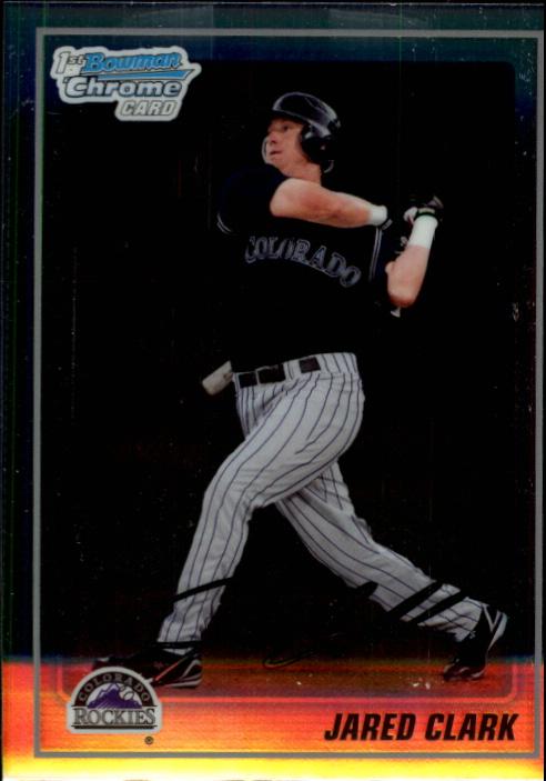 2010 Bowman Chrome Prospects #BCP83 Jared Clark