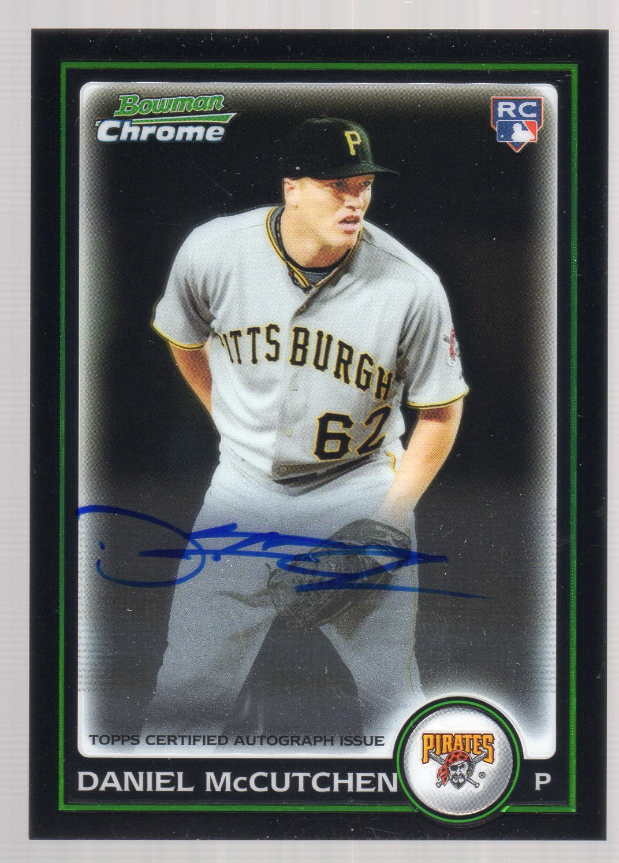 2010 Bowman Chrome #214A Daniel McCutchen AU