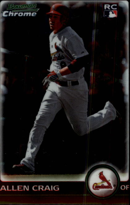 2010 Bowman Chrome #215B Allen Craig RC