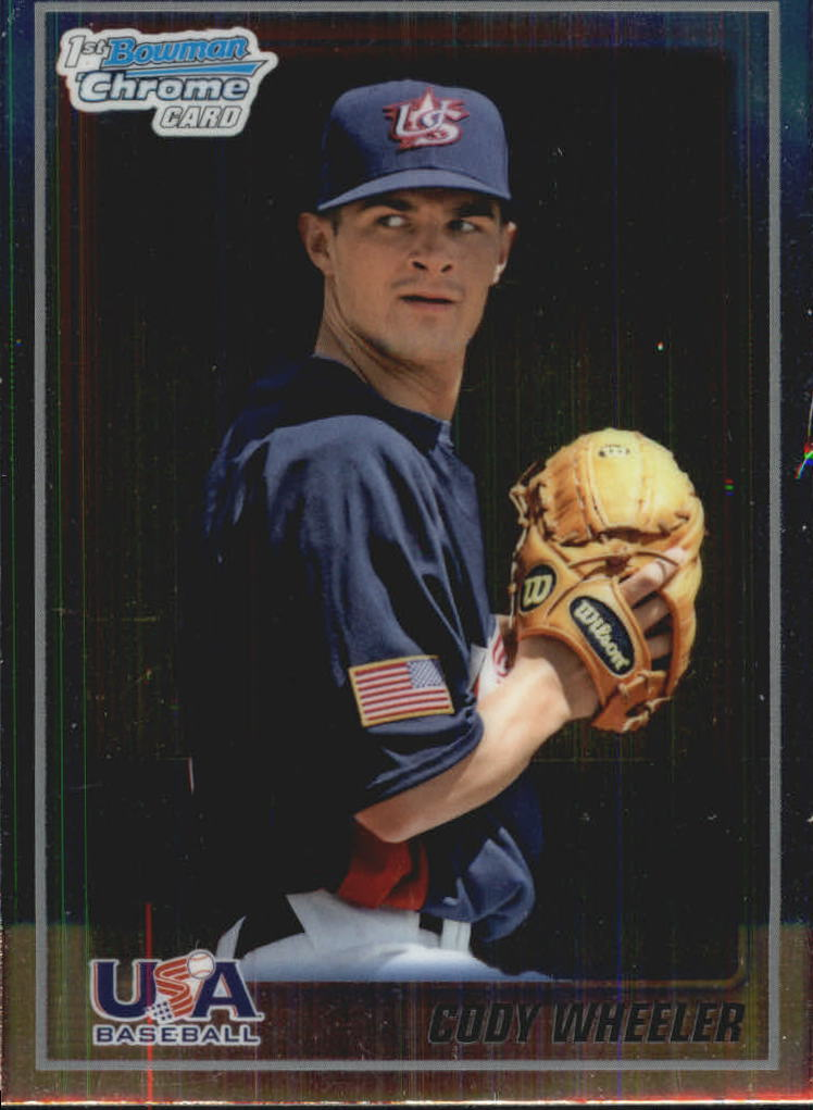 2010 Bowman Chrome USA Baseball #BC18 Cody Wheeler