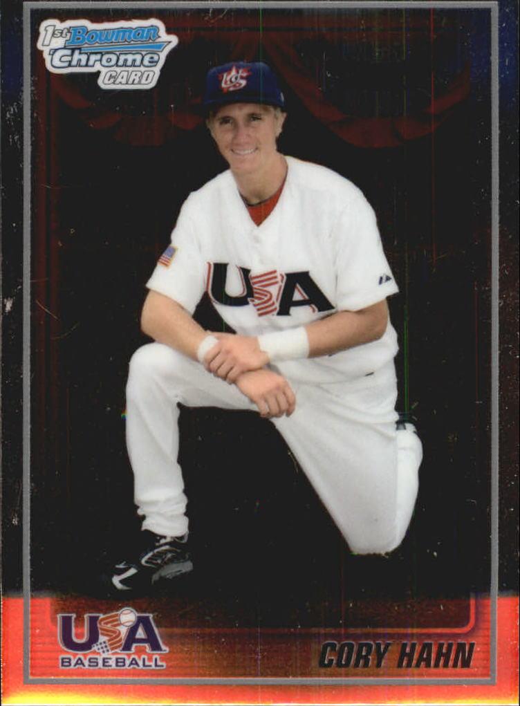 2010 Bowman Chrome 18U USA Baseball #18BC7 Cory Hahn