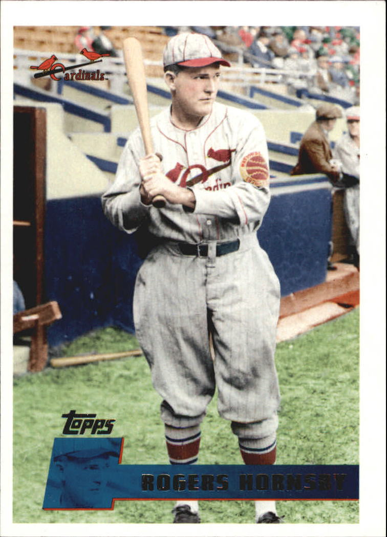2010 Topps Vintage Legends Collection #VLC19 Rogers Hornsby