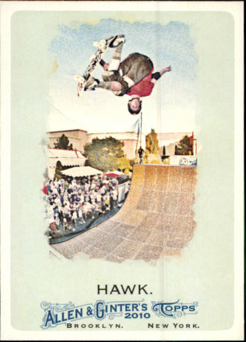 2010 Topps Allen and Ginter #54 Tony Hawk