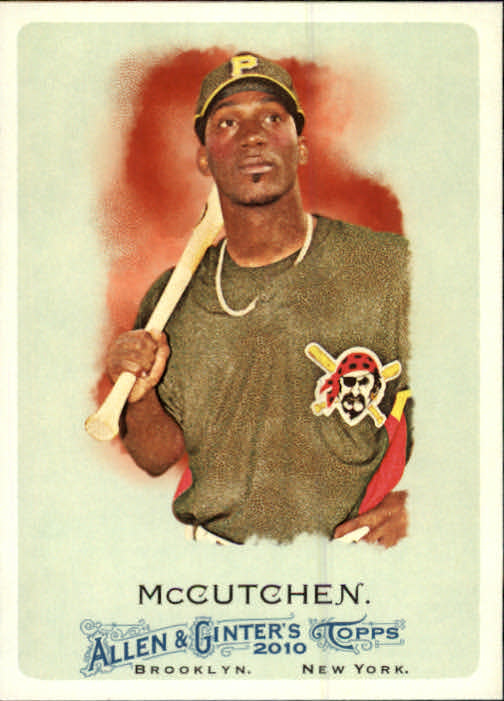 2010 Topps Allen and Ginter #124 Andrew McCutchen