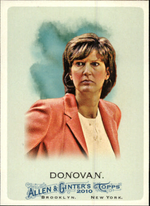 2010 Topps Allen and Ginter #148 Anne Donovan