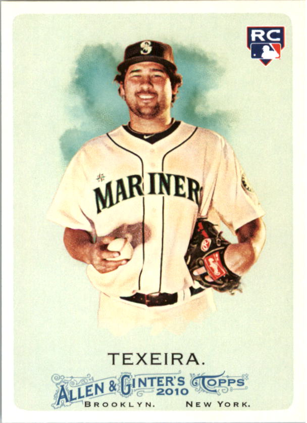 2010 Topps Allen and Ginter #151 Kanekoa Texeira RC