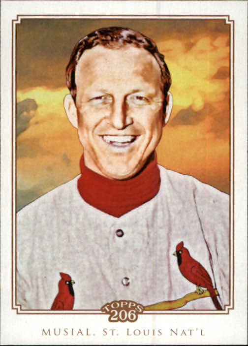2010 Topps 206 #26 Stan Musial