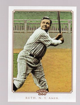 2010 Topps 206 #185 Babe Ruth