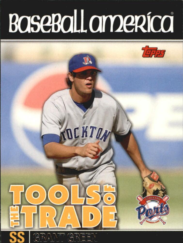 2010 Topps Pro Debut Baseball America's Tools of the Trade #TT42 Grant Green