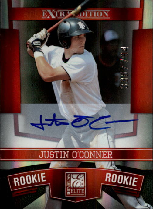 2010 Donruss Elite Extra Edition #109 Justin O'Conner AU/794