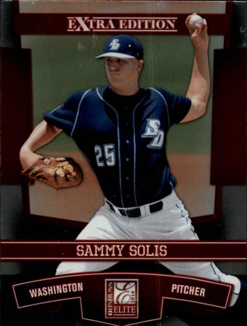 2010 Donruss Elite Extra Edition Aspirations #44 Sammy Solis