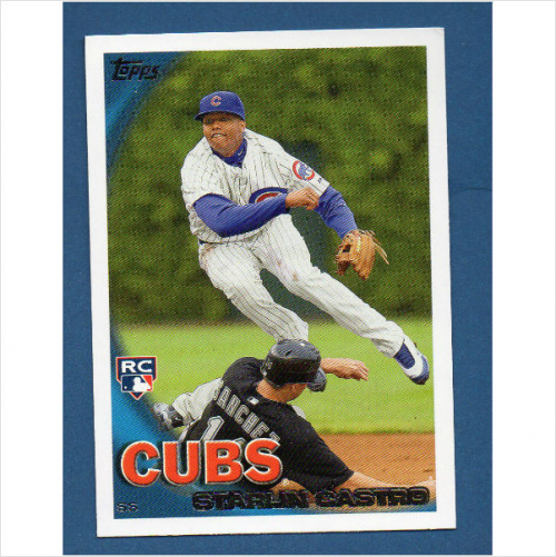2010 Topps Update #US85A Starlin Castro RC