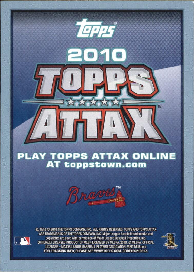 2010 Topps Update Attax Code Cards #32 Jason Heyward