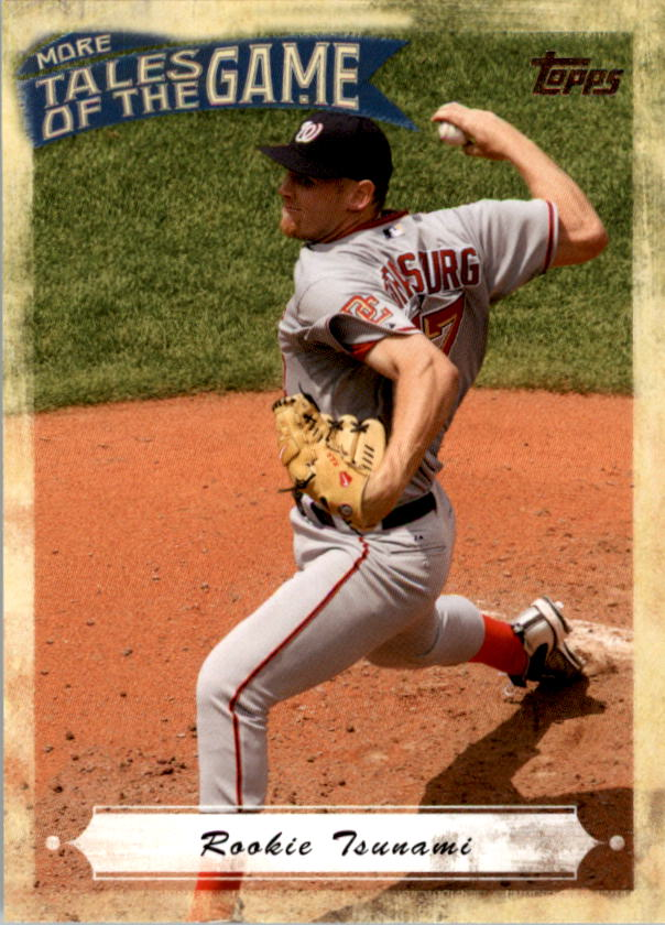 2010 Topps Update More Tales of the Game #14 Stephen Strasburg