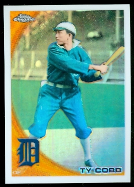 2010 Topps Chrome Wrapper Redemption Refractors #225 Ty Cobb