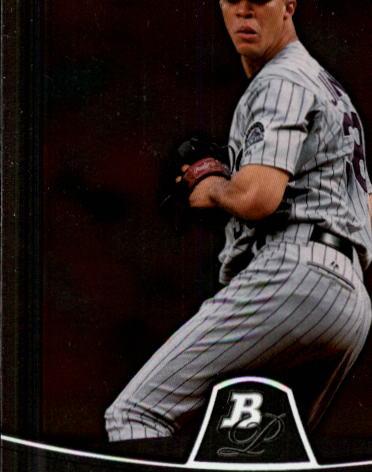 2010 Bowman Platinum #19 Ubaldo Jimenez
