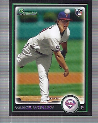 2010 Bowman Draft #BDP28 Vance Worley RC