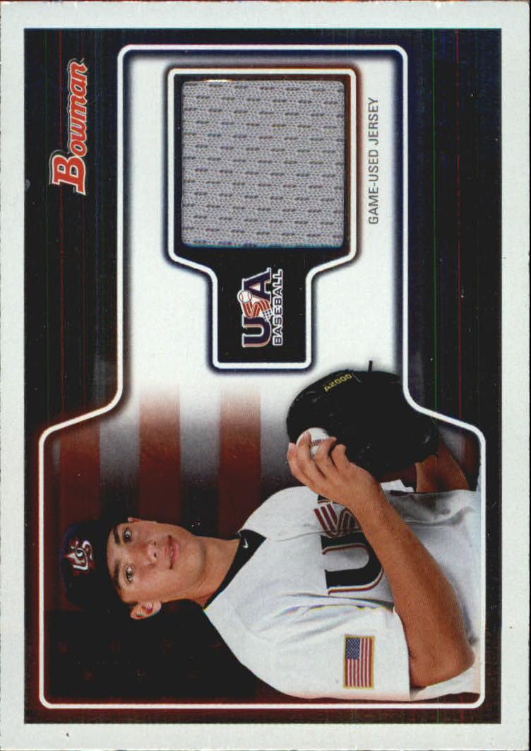 2010 Bowman Draft USA Baseball Jerseys #USAR14 Matt Olson