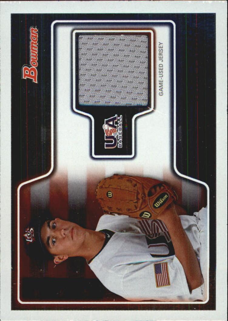 2010 Bowman Draft USA Baseball Jerseys #USAR15 Ivan Pelaez