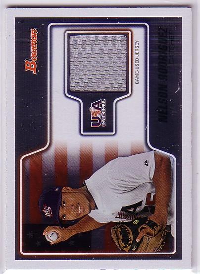 2010 Bowman Draft USA Baseball Jerseys #USAR17 Nelson Rodriguez