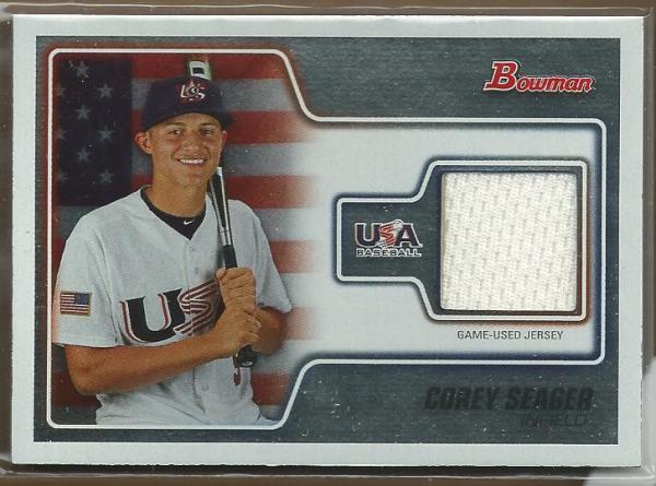 2010 Bowman Draft USA Baseball Jerseys #USAR18 Corey Seager